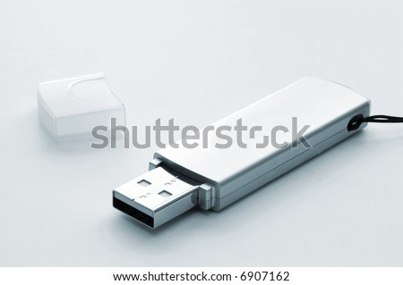USB flash drive - stock photo