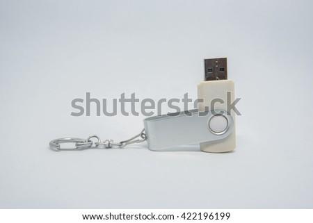 USB memory stick - stock photo