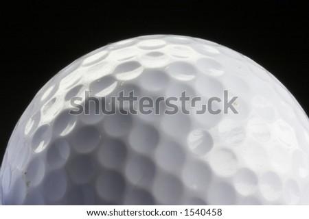 used golfballs - stock photo