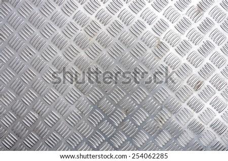 used iron floor as background - stock photo