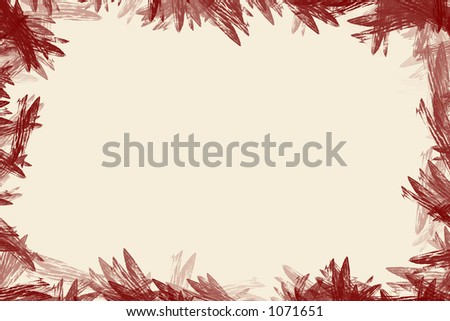 Useful frame for text placement - stock photo