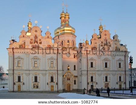 Uspenskiy sobor (cathedral) - stock photo
