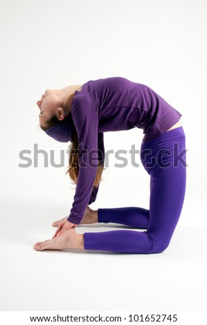 ustrasana stock photos royaltyfree images  vectors