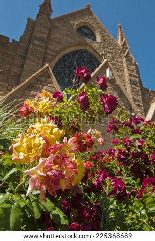 Utah Cathedral - stock photo