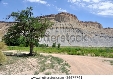 Utah Ranch Land - stock photo