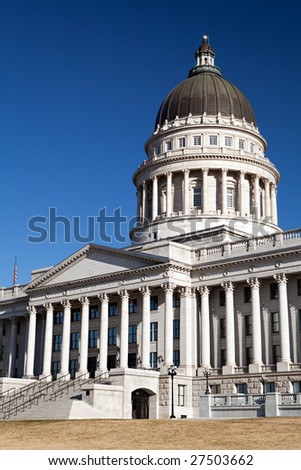 Utah State Capitol Building in Salt Lake City, UT