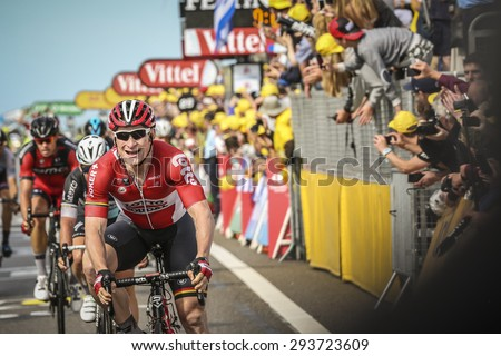Utrecht, The Netherlands. 5th of July, 2015. Tour de France 2nd Stage, Final Sprint, Andre Greipel