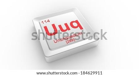 Uuq symbol 114 material ununquadium chemical stock illustration uuq symbol 114 material for ununquadium chemical element of the periodic table urtaz Image collections
