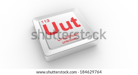 Uut symbol 113 material ununtrium chemical stock illustration uut symbol 113 material for ununtrium chemical element of the periodic table urtaz Images