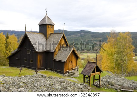 Uvdal Stavkirke, Norway