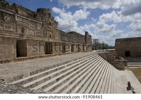 Uxmal Ruins - stock photo