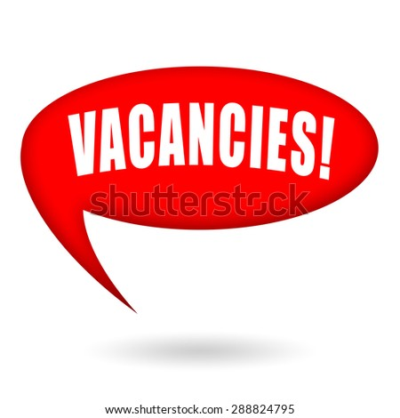 Vacancies, job offer - stock photo
