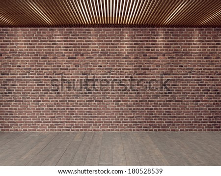 Vacancy Apartment Background 3D - stock photo