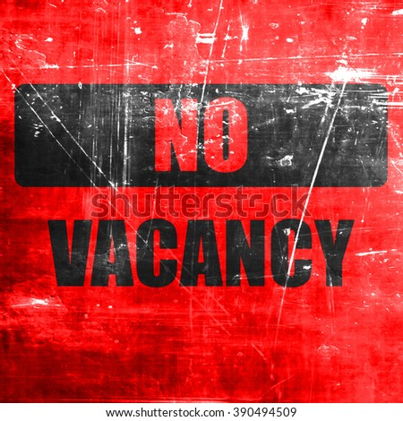 Vacancy sign for motel - stock photo