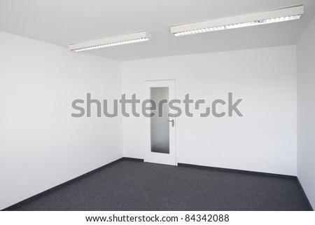 vacant room - stock photo