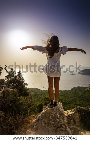 Vacation freedom concept - stock photo