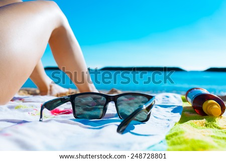 Vacation holiday concept - stock photo