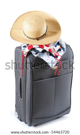 Vacation objects. Isolated - stock photo