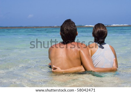 Vacation On The Tropical Island - stock photo