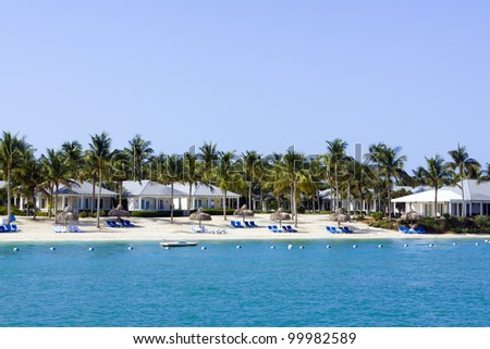 Vacation Resort - stock photo