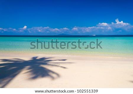 Vacation Wallpaper Brightest Holiday - stock photo