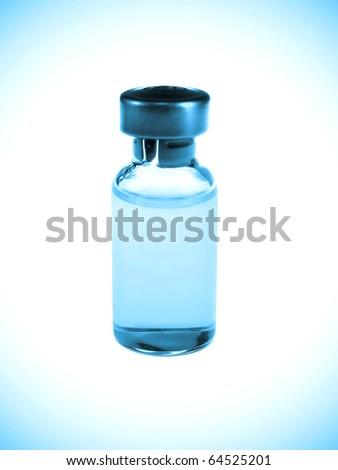 Vaccine vial - stock photo