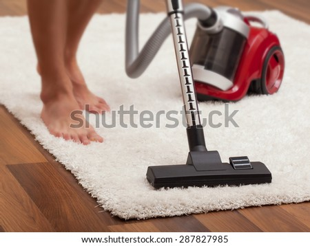 Vacuum cleaner - stock photo