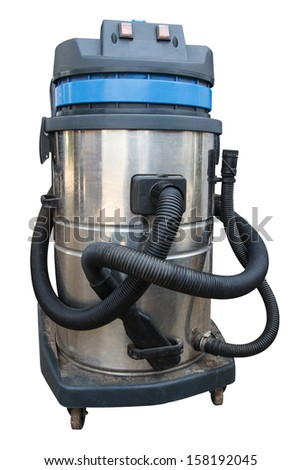 Vacuum cleaner for cleaning large. Machine for industry. - stock photo