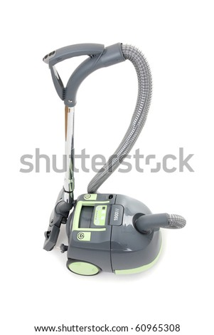 vacuum cleaner isolated over white