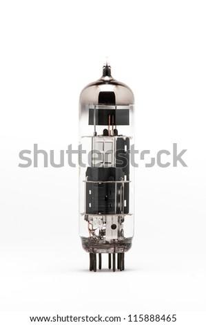 Vacuum tube - stock photo