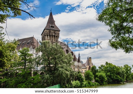 Vajdahunyad Castle (Hungarian-Vajdahunyad vara) is a castle in the City Park of Budapest, Hungary