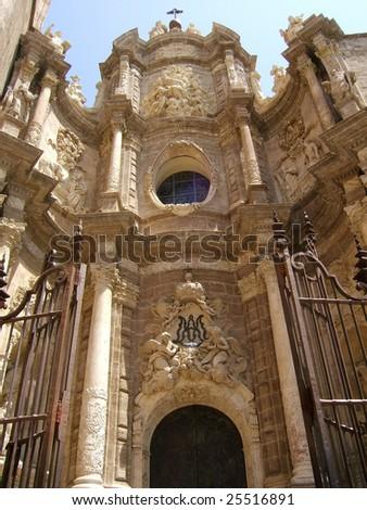 Valencia Cathedral - stock photo