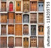 Valencia doors - stock photo