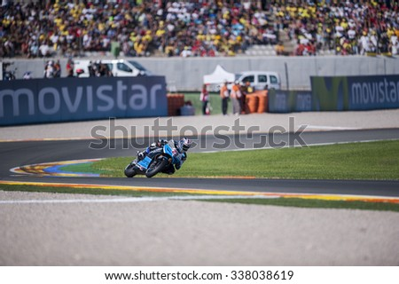 VALENCIA, SPAIN - NOVEMBER 8:  during Valencia MotoGP 2015 at Ricardo Tormo Circuit on November 8, 2015 in Valencia, Spain