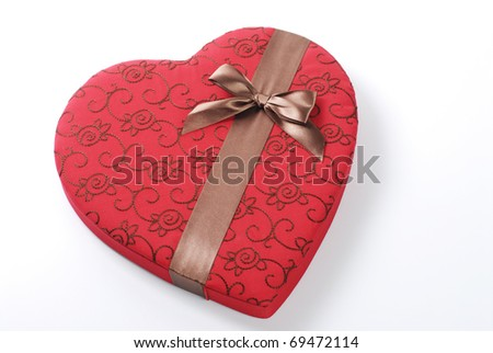 Valentine decorations and background