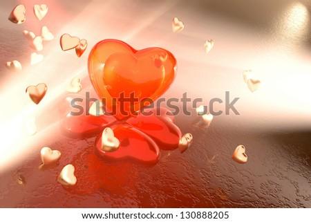 love sky my heart bubbles sky sunsetlove summer stock photo 221010295