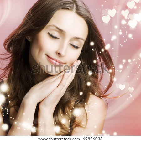 Valentine.In love - stock photo
