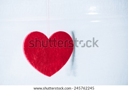 Valentine on the hook
