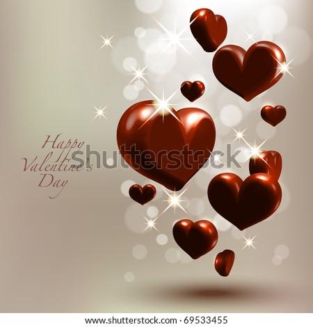 Valentine's Chocolate - stock photo