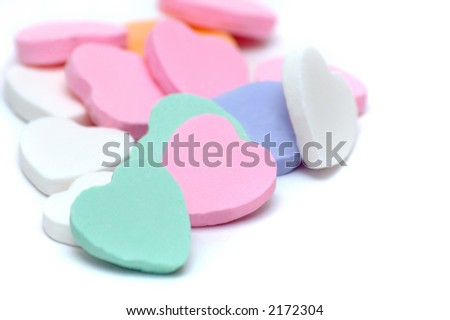 Valentine's Day Candy - stock photo