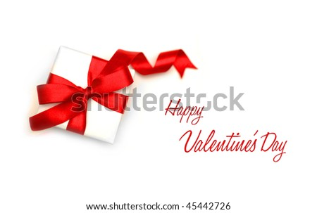 Valentine s Day Card - stock photo