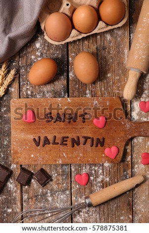 happy valentines day baking ingredients stock photo 564491476, Ideas
