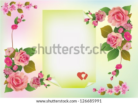 Valentine's Day flowers - stock photo