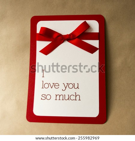 Valentine's Day poster.Valentines day card  - stock photo
