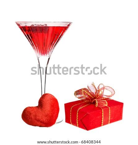 Valentine's day present - stock photo