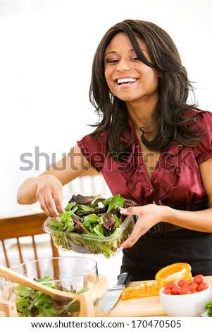 African american woman cooking stock images royalty free for Valentine s day meals to cook together