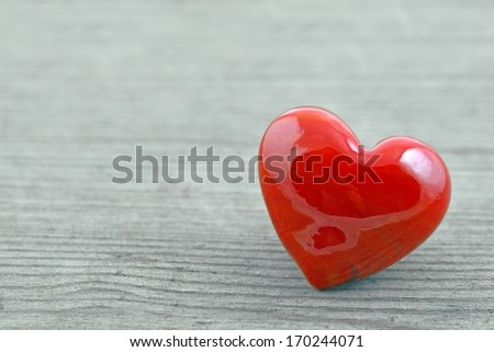 Valentines Day background with heart. - stock photo