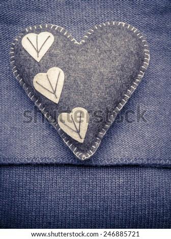 Valentines Day Heart - stock photo