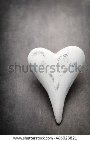 Valentines day hearts. Valentine day greeting card.