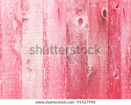 Valentines Day Holiday Love You Heart Greeting On Distressed Vintage Grunge Texture Wood Background Painted In Pink Red White - stock photo